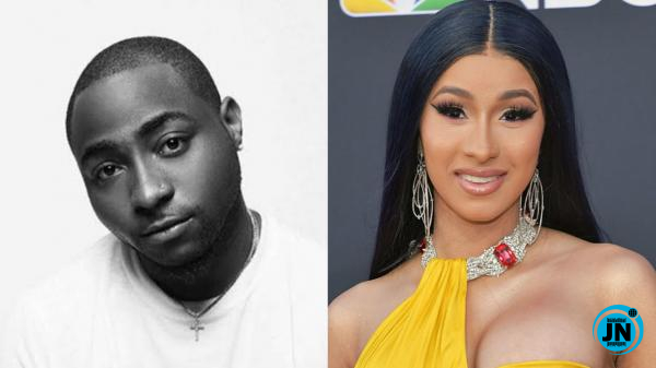 Davido – Fall (Remix) (Snippet) Ft. Cardi B
